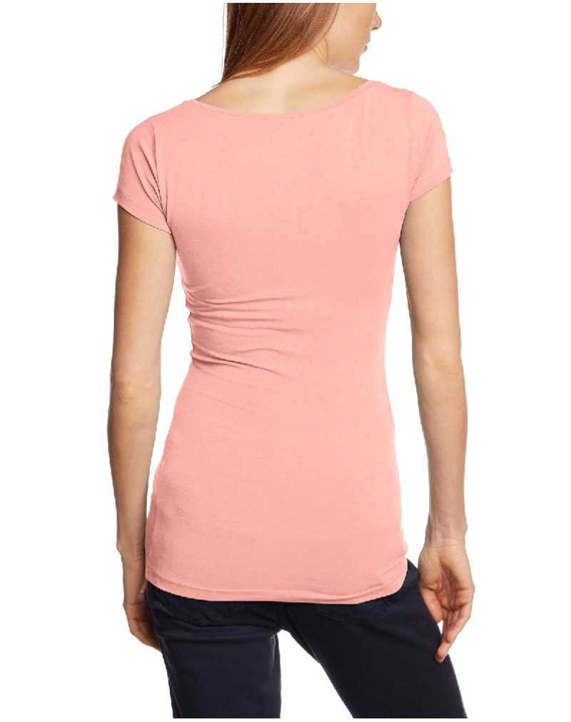 ICHI Women's Plain Short Sleeve