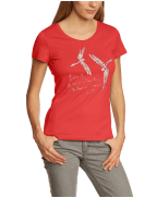 Mustang Women's Crew Neck Short Sleeve