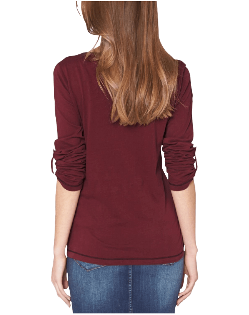 Oliver Women's Crew Neck Long Sleeve Long Sleeve Top
